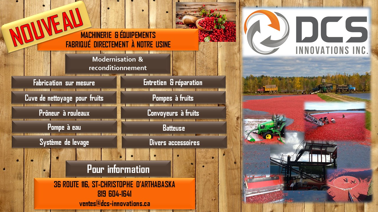 PROMO FABRICATION EQUIPEMENT CANNEBERGE